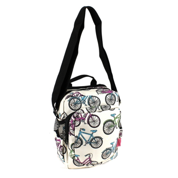Bicycle Crossbody Messenger Bag Purse Day Pack 4de748bae1466